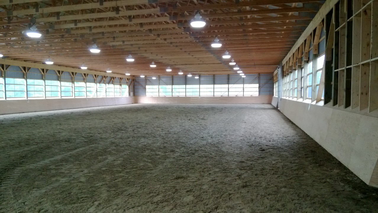 Riding Arena Lighting Going Electric Ltd